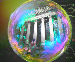 stock-market-bubble - Super Bubble 070116