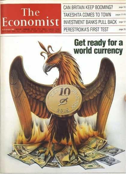 Titelbild des Economist von 1982